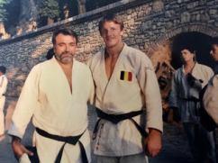 con il campione olimpico belga