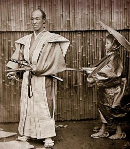 Samurai ed attendente